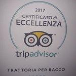 Photo de Trattoria Per Bacco