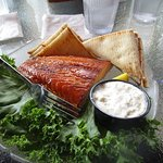 Smoked Fish Plate - appetizer but easily can be a main entree!