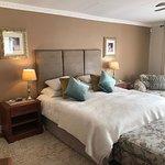Peaches and Cream bedroom