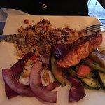 salmone con cous cous