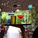 Have a drink on our award winning patio!