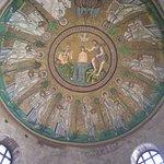 Il mosaico del battistero