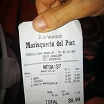Marisqueria del Port의 사진