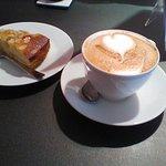 Cappu and vegan friendly almond cake at CCK
