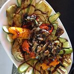 Grilled vegetables dish from our chef!