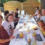 table enterrase en famille