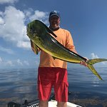 Trophy Mahi with Capt Travis Holeman of Key West Angling!