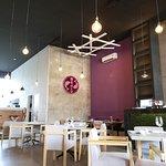 Interior del restaurante con Aire Acondicionad