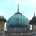 Copper dome of house