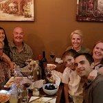 Happy family birthday dinner!