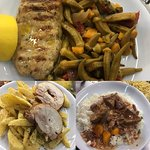 Ένα δείγμα της ποικιλίας που χαρακτηρίζει τα πιάτα μας.καθημερινά διαφορετικές επιλογές.