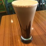Mocha blended ice coffee
