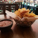 Delicious chips and salsa!!