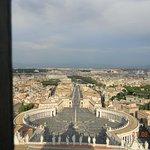 Ватикан, вид на Рим с купола собора святого Петра