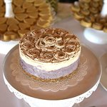 The beautiful cakes & chocolates that Radiantly Raw made for us for our son's wedding