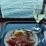 Dinner with seaview