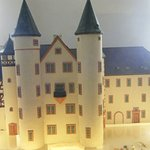 Mockup of the castle in Lohr am Main