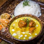 Lots of delicious Curries to try