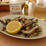Grilled sardines starter