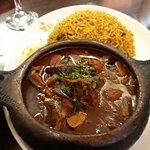 Lebanese Vegan Moussaka & Spicy Rice