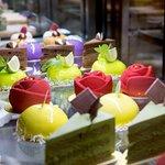 Showcasing homemade desserts