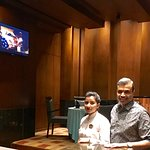With Hostess Ritu