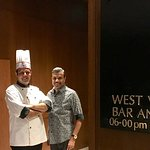 With Restaurant Chef Swanand