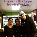 Billy Corgan lead singer of Smashing Pumpkins band visited @veginyyc for a plant based vegan mea