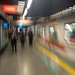 Bilde fra Metro de Santiago