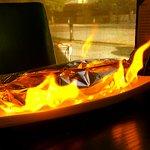 Volcano Sushi - Lit Tableside