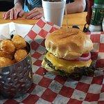 Homemade and fresh Boulevard Burger