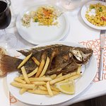 Peter's fish at Tanureen Restaurant