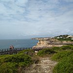Carvoeiro Boardwalk Foto