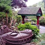 Peasholm Park - Dragon Sculpture and Well