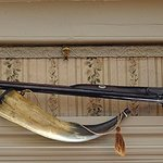 Musket and Powder Horn