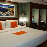 Rooms feature designer colors and 5 star luggage stowage system