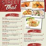 Bridge street Thai restaurant menus
