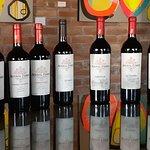 Amostra de vinhos degustados