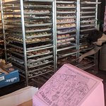 Racks of Voodoo Doughnuts!