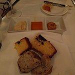 Delicious bread including blueberry corn bread