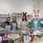Easter Bunny day at Liana's
