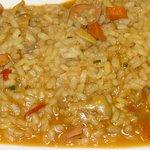 El arroz con chipis es una delicatessen gastronómica total .