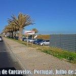Praia de Carcavelos, Portugal