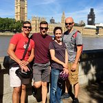 Touring with the family - perfect day for a bike ride in London!