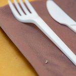 plastic cutlery - I am not a fan
