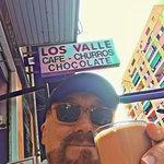 El buen cafe y los mejores churros en Los Valle.