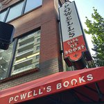 Northwest entrance of Powell's