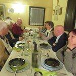Diner in Aglioni