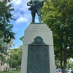 statue in honor of fallen soldiers from Provincetown
