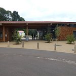 Sherwood Forest Visitor Centre: front entrance.